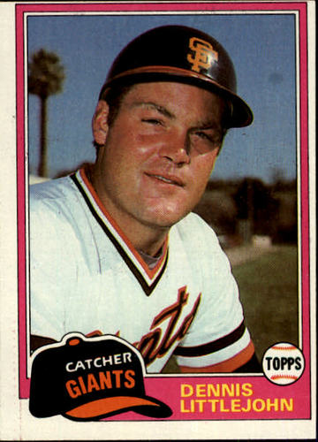 Photo of 1981 Topps #561 Dennis Littlejohn