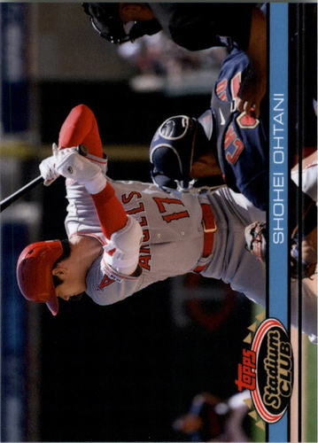 Photo of 2019 Topps Throwback Thursday #121 Shohei Ohtani/91 Stadium Club BB
