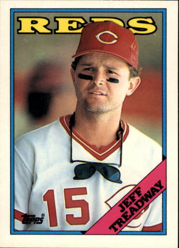 Photo of 1988 Topps Traded #122T Jeff Treadway XRC