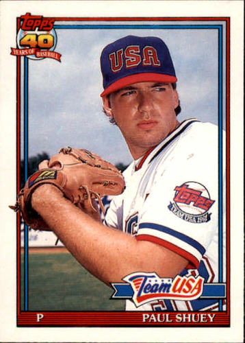 Photo of 1991 Topps Traded #108T Paul Shuey USA RC