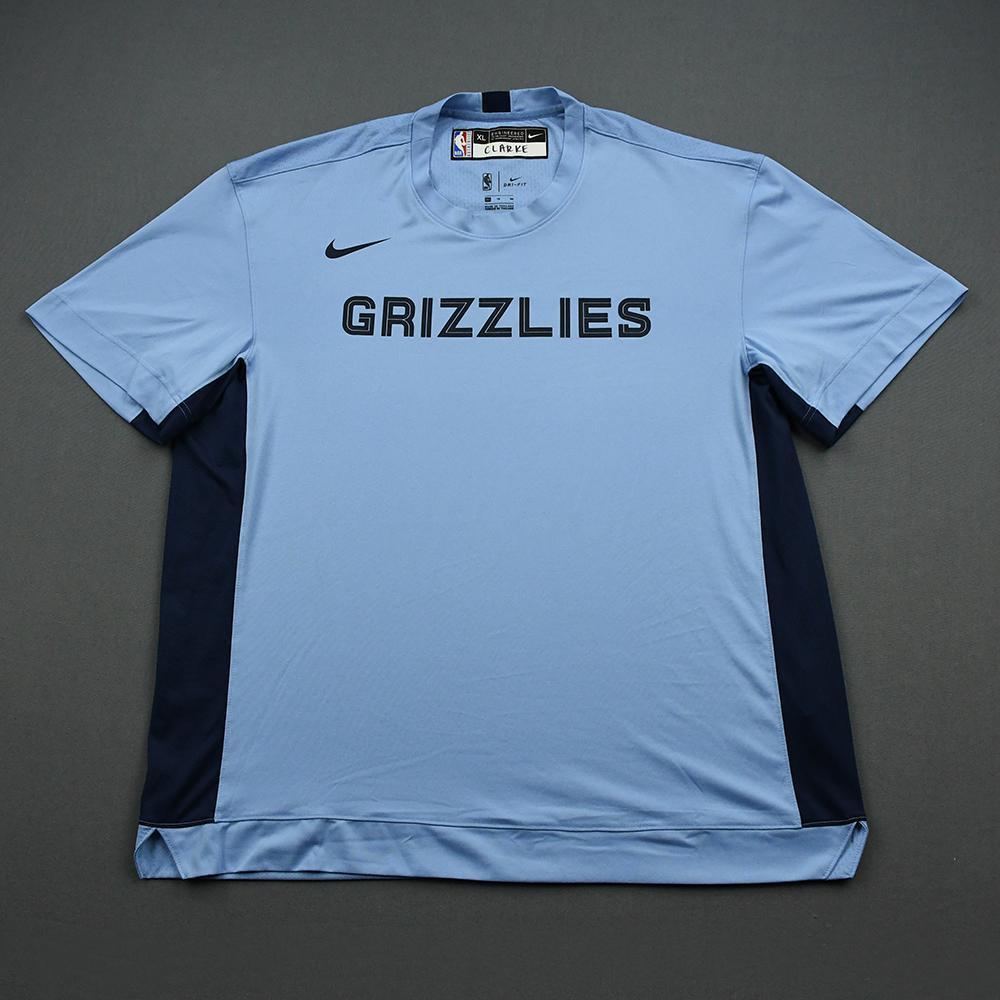 Brandon Clarke - 2020 NBA Rising Stars - Team World - Warm-up and Game-Worn Shooting Shirt