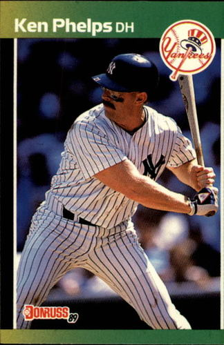 Photo of 1989 Donruss #363 Ken Phelps