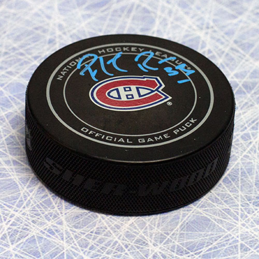 Patrick Roy Montreal Canadiens Autographed Official Game Puck
