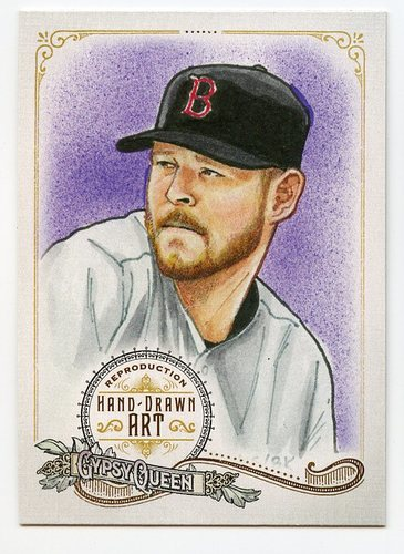 Photo of 2017 Topps Gypsy Queen Hand Drawn Art Reproductions #GQARCS2 Chris Sale