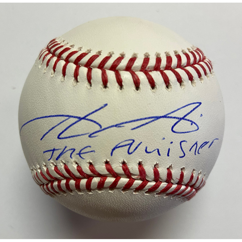 Photo of Aristides Aquino Autographed Authentic Baseball