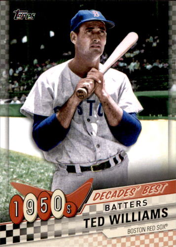 Photo of 2020 Topps Decades' Best #DB14 Ted Williams