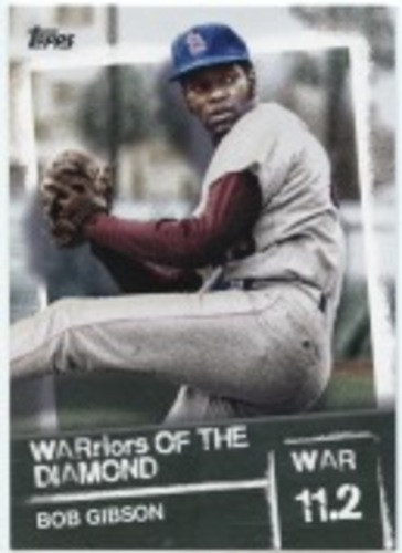 Photo of 2020 Topps Warriors of the Diamond #WOD22 Bob Gibson