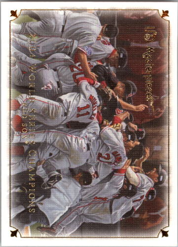 Photo of 2007 UD Masterpieces #86 2004 Boston Red Sox