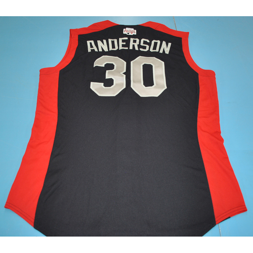 Photo of 2019 Futures Game - Ian Anderson Batting Practice Worn Jersey