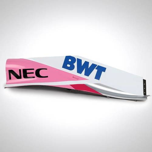 Photo of BWT RACING POINT F1 TEAM 2018 ENGINE COVER