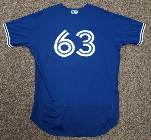 Photo of Authenticated Team Issued 2020 Spring Training Jersey: #63 Wilmer Font. Size 52