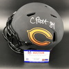 NFL - Bears Eclipse Helmet Signed by Corderralle Patterson and Khalil Mack