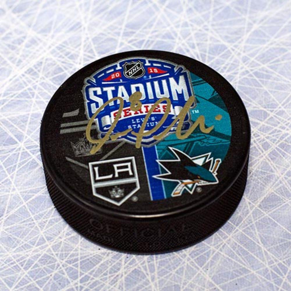 Joe Pavelski San Jose Sharks Autographed 2015 Stadium Series Puck
