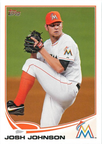 Photo of 2013 Topps #255 Josh Johnson