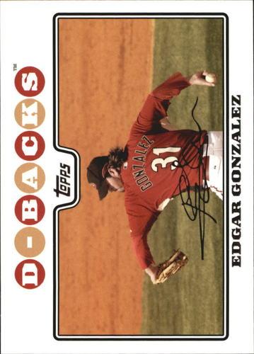 Photo of 2008 Topps #247 Edgar Gonzalez