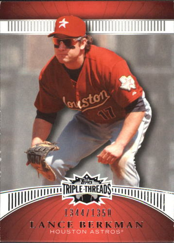 Photo of 2010 Topps Triple Threads #96 Lance Berkman