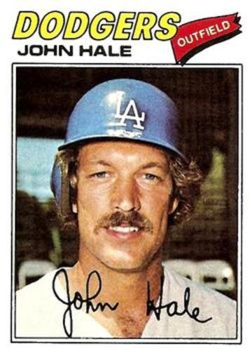 Photo of 1977 Topps #253 John Hale