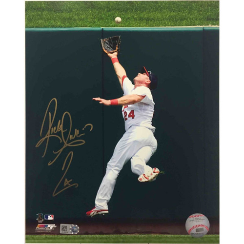 Cardinals Authentics: Rick Ankiel Autographed Photo