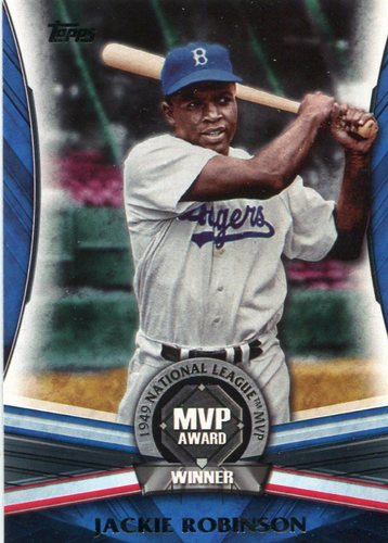 Photo of 2017 Topps Update MVP Award #MVP12 Jackie Robinson