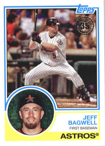 Photo of 2018 Topps '83 Topps #8352 Jeff Bagwell