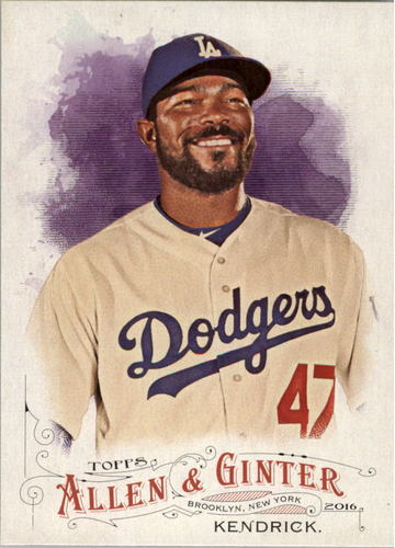 Photo of 2016 Topps Allen and Ginter #11 Howie Kendrick