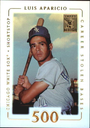Photo of 2002 Topps Tribute #79 Luis Aparicio