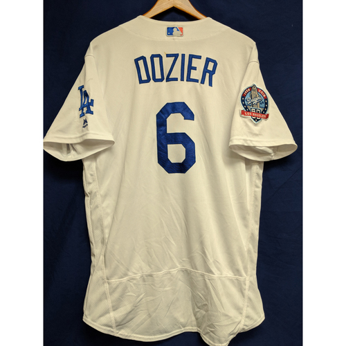 reputable site 2889e f143d MLB Auctions | Brian Dozier Game-Used Home Jersey from ...