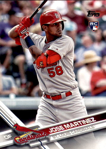 Photo of 2017 Topps #448 Jose Martinez RC