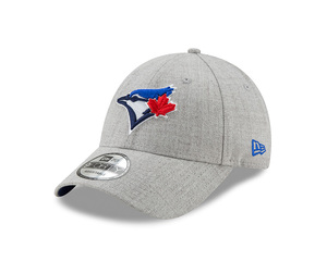 Toronto Blue Jays Snapped Heather Grey Cap by New Era