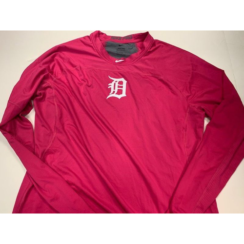 Photo of Team-Issued Pink Dri-Fit Shirt