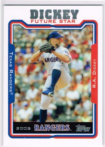 Photo of 2014 Topps Future Stars That Never Were #FS22 R.A. Dickey
