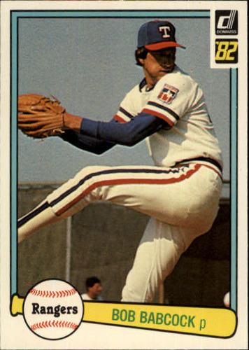 Photo of 1982 Donruss #565 Bob Babcock
