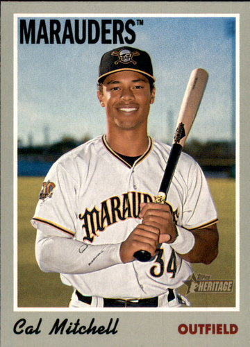 Photo of 2019 Topps Heritage Minors #33 Cal Mitchell