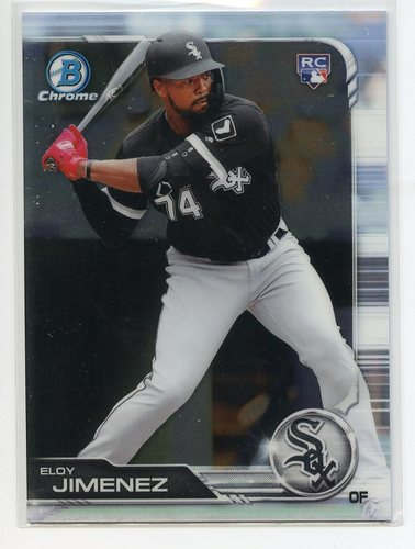 Photo of 2019 Bowman Chrome #81 Eloy Jimenez RC