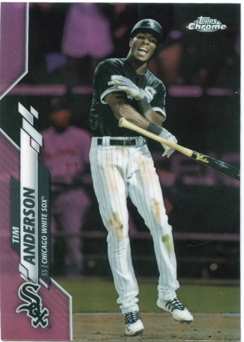 Photo of 2020 Topps Chrome Pink Refractors #90 Tim Anderson
