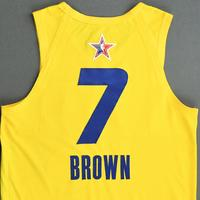 Jaylen Brown - Game-Worn 2021 NBA All-Star Jersey - 1st Half - All-Star Game Debut - Also Worn In MTN DEW 3-Point Contest