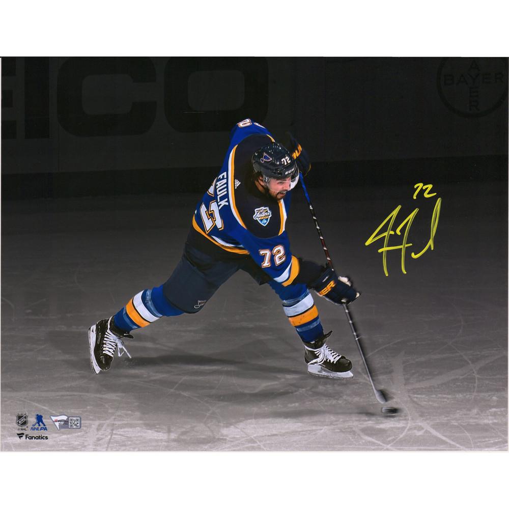 Justin Faulk St. Louis Blues Autographed 11