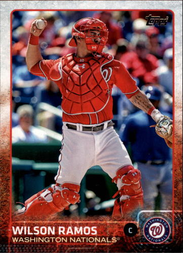 Photo of 2015 Topps #46A Wilson Ramos