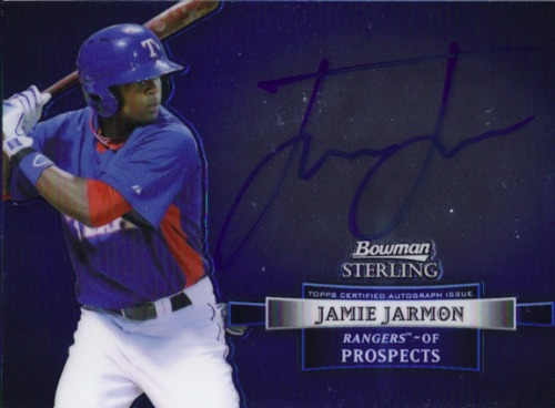 Photo of 2012 Bowman Sterling Prospect Autographs #JJ Jamie Jarmon