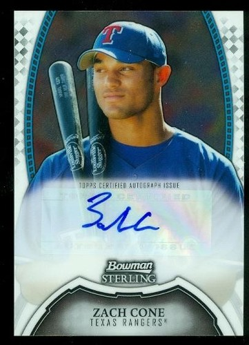 Photo of 2011 Bowman Sterling Prospect Autographs #ZC Zach Cone