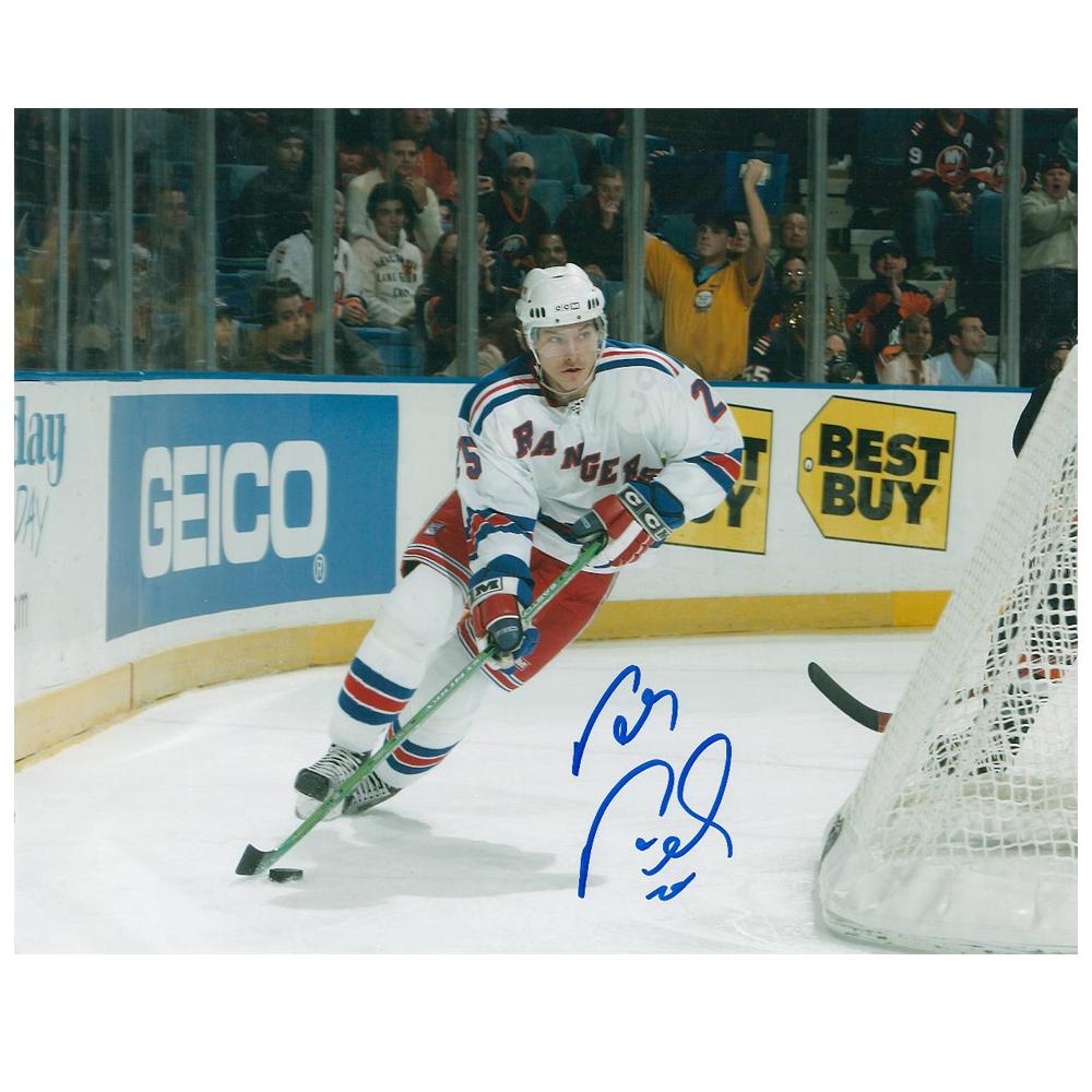PETER PRUCHA Signed New York Rangers 8 X 10 Photo - 70008