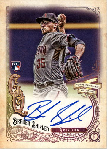 Photo of 2017 Topps Gypsy Queen Autographs #GQABSH Braden Shipley