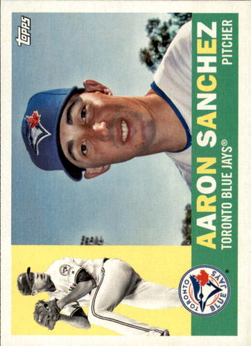 Photo of 2017 Topps Archives #46 Aaron Sanchez