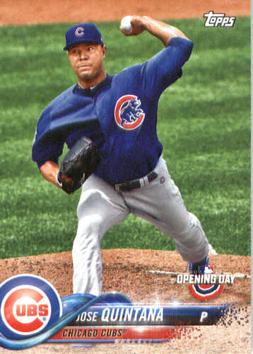 Photo of 2018 Topps Opening Day #199 Jose Quintana
