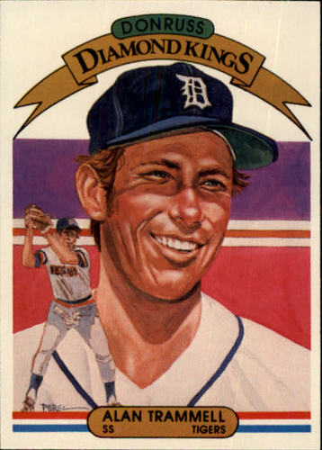 Photo of 1982 Donruss #5 Alan Trammell