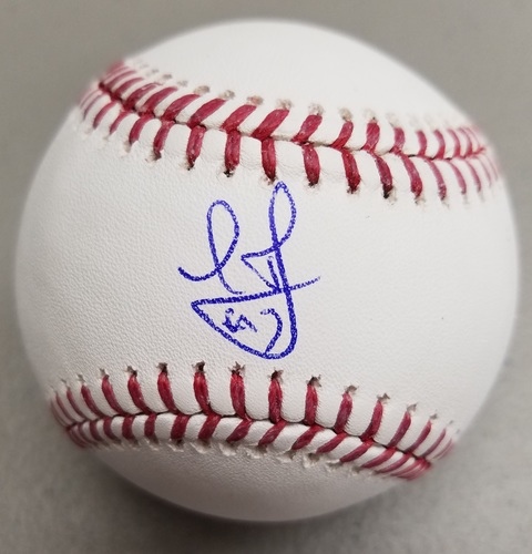 Photo of Leody Taveras Autographed Baseball