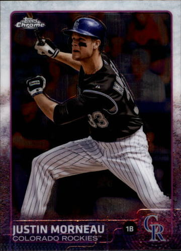 Photo of 2015 Topps Chrome #58 Justin Morneau