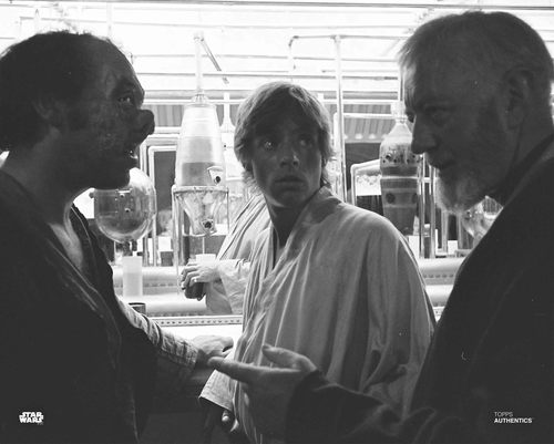Obi-Wan Kenobi, Luke Skywalker and Dr. Evazan