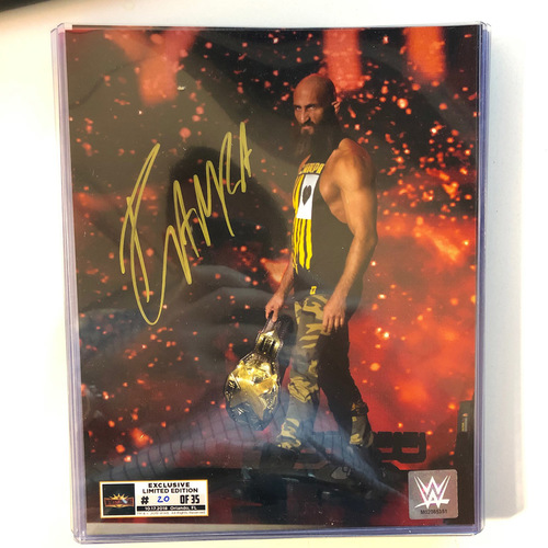 Photo of Tommaso Ciampa SIGNED WrestleMania 35 Superstore Exclusive Photo (Random Number)