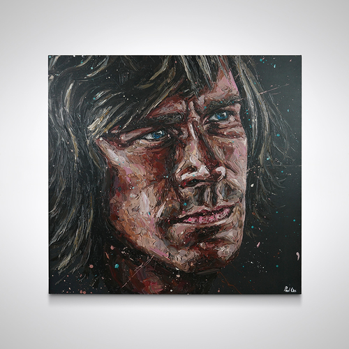 Photo of James Hunt `Rush` Hand Embellished Canvas - Paul Oz